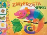 Zwierzęta Afryki. Kolorowanka z naklejkami w sklepie internetowym Booknet.net.pl