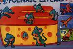 Poznaje literki. Kolorowanka z naklejkami w sklepie internetowym Booknet.net.pl