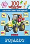 100 wzorów. Pojazdy. Kolorowanki z naklejkami (2-3 lata) w sklepie internetowym Booknet.net.pl