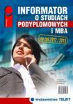 Informator o studiach podyplomowych i MBA 2012/2013 w sklepie internetowym Booknet.net.pl