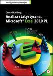 Analiza statystyczna. Microsoft Excel 2010 PL w sklepie internetowym Booknet.net.pl