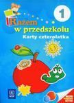 Razem w przedszkolu 1 Karty czterolatka w sklepie internetowym Booknet.net.pl