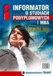Informator o studiach podyplomowych i MBA w sklepie internetowym Booknet.net.pl