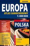 Europa 1:800 000 atlas samochodowy w sklepie internetowym Booknet.net.pl