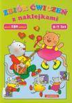 Zbiór ćwiczeń z naklejkami 5-7 lat. w sklepie internetowym Booknet.net.pl