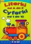 Literki od A do Z. Cyferki od 1 do 10 w sklepie internetowym Booknet.net.pl