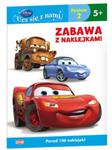 Disney Ucz się z nami Auta Zabawa z naklejkami w sklepie internetowym Booknet.net.pl