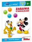 Disney Ucz się z nami Klub Przyjaciół Myszki Miki Zabawa z naklejkami w sklepie internetowym Booknet.net.pl
