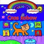 Czas zabaw. Tęczowe kolorowanki z nalepkami w sklepie internetowym Booknet.net.pl