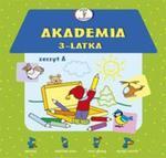 Akademia 3-latka Zeszyt A w sklepie internetowym Booknet.net.pl