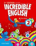 INCREDIBLE ENGLISH 2 Class Book 2nd EDITION w sklepie internetowym Booknet.net.pl