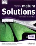 New Matura Solutions Intermediate - Student`s Book w sklepie internetowym Booknet.net.pl
