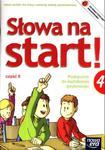 Słowa na start! Klasa 4, szkoła podstawowa, część 2. Język polski. Podręcznik do kształcenia język. w sklepie internetowym Booknet.net.pl