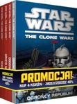 Pakiet Star Wars: Obrońcy republiki / Oddział breakout / Kryzys na Coruscant / Ścieżka Jedi w sklepie internetowym Booknet.net.pl