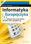 Informatyka Europejczyka. Gimnazjum. Zeszyt ćwiczeń. Windows Vista, Linux Ubuntu w sklepie internetowym Booknet.net.pl