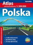 Polska - atlas samochodowy 1:300 000 w sklepie internetowym Booknet.net.pl