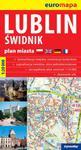 Lublin Świdnik - papierowy plan miasta 1:20 000 w sklepie internetowym Booknet.net.pl