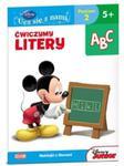 Disney Ucz się z nami Klub Przyjaciół Myszki Miki Ćwiczymy litery w sklepie internetowym Booknet.net.pl