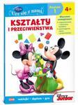 Disney Ucz się z nami Klub Przyjaciół Myszki Miki Kształty i przeciwieństwa w sklepie internetowym Booknet.net.pl