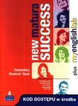 New Matura Success Elementary. Klasa 1-3, liceum. Język angielski. Podręcznik + MyEnglishLab w sklepie internetowym Booknet.net.pl