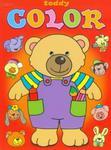 Teddy color Miś czerwony w sklepie internetowym Booknet.net.pl
