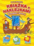 Moja pierwsza książka z naklejkami Kształty i kolory w sklepie internetowym Booknet.net.pl