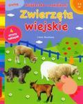 Zwierzęta wiejskie Książeczka z naklejkami w sklepie internetowym Booknet.net.pl