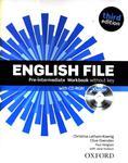 English File Pre-intermediate - Workbook (+CD) w sklepie internetowym Booknet.net.pl