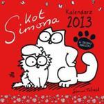 Kot Simona Kalendarz 2013 w sklepie internetowym Booknet.net.pl