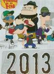 Kalendarz 2013 Fineasz i Ferb w sklepie internetowym Booknet.net.pl