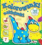 Kolorowanki naklejanki. Wesołe dinozaury w sklepie internetowym Booknet.net.pl