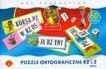 Puzzle ortograficzne rz i ż w sklepie internetowym Booknet.net.pl