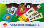 Puzzle ortograficzne h i ch w sklepie internetowym Booknet.net.pl