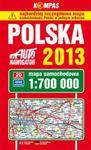 Polska mapa samochodowa 1:700 000 w sklepie internetowym Booknet.net.pl