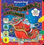 Kolorowanki naklejanki. Święta w sklepie internetowym Booknet.net.pl