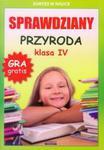 Sprawdziany Przyroda 4 w sklepie internetowym Booknet.net.pl