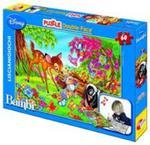 Puzzle dwustronne 2w1 bambi + mazaki w sklepie internetowym Booknet.net.pl