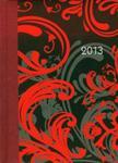 Kalendarz książkowy 2013 bordowy B6 w sklepie internetowym Booknet.net.pl