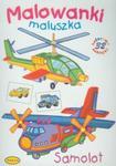 Samolot Malowanki maluszka w sklepie internetowym Booknet.net.pl