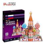Puzzle 3D St. Basil's Cathedral w sklepie internetowym Booknet.net.pl