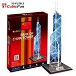Puzzle 3D Bank of China Tower w sklepie internetowym Booknet.net.pl