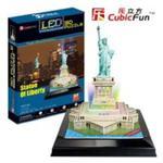 Puzzle 3d led statua wolności w sklepie internetowym Booknet.net.pl