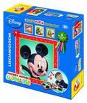 Puzzle dwustronne Myszka Miki 4 obrazki w sklepie internetowym Booknet.net.pl