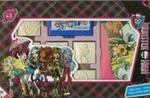 Pieczątki Monster High walizka w sklepie internetowym Booknet.net.pl