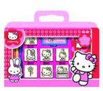 Pieczątki Hello Kitty w walizce w sklepie internetowym Booknet.net.pl