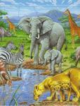 Afrykańska Sawanna Puzzle w sklepie internetowym Booknet.net.pl
