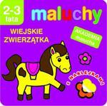 Maluchy. Wiejskie zwierzątka z naklejkami. Akademia malucha 2-3 lata w sklepie internetowym Booknet.net.pl