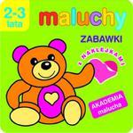 Maluchy. Zabawki z naklejkami. Akademia malucha 2-3 lata w sklepie internetowym Booknet.net.pl