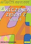 Matematyka KROK PO KROKU klasa 4 ćw.2. w sklepie internetowym Booknet.net.pl