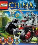 Lego Legends of Chima Wilczy pojazd Wakza w sklepie internetowym Booknet.net.pl